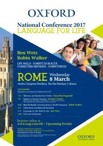 Oxford National Conference Oxford University Press formazione docenti corso di formazione Centro Congressi