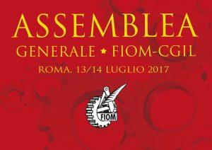 Assemblea generale FIOM 13-14 luglio 2017